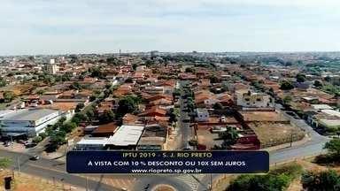 Prefeitura de Rio Preto envia carnês para pagamento do IPTU 2019 - A prefeitura de São José do Rio Preto (SP) divulgou nesta quarta-feira (6) que começou a enviar os carnês do IPTU 2019 para pagamento.