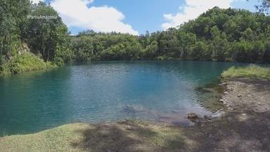 Parte 3: Pra fechar, tem tour pela Lagoa Azul - Parte 3: Pra fechar, tem tour pela Lagoa Azul