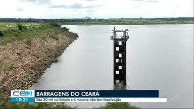 Órgãos preocupados com barragens do Ceará - São cerca de 30 mil no estado. A maioria, particular e sem fiscalização