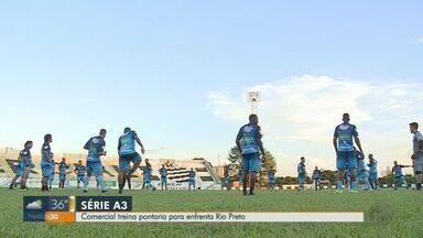 Comercial treina pontaria para enfrentar Rio Preto - Jogo será no domingo (10) às 10h no Palma Travassos.