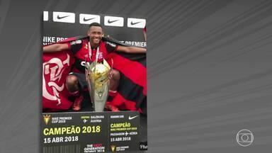 Corpo do lateral Jorge Eduardo, natural de Além Paraíba (MG) ainda não foi identificado - Jogador é uma das vítimas do incêndio que atingiu o centro de treinamentos da categoria de base do Flamengo
