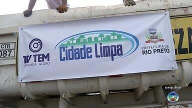 Projeto Cidade Limpa começa nesta segunda-feira em Rio Preto - O Cidade Limpa, projeto da TV Tem em parceria com as prefeituras vai começar segunda-feira (11) em São José do Rio Preto (SP).