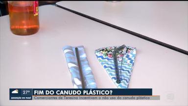Estabelecimentos de Teresina incentivam o não uso de canudos plásticos - Estabelecimentos de Teresina incentivam o não uso de canudos plásticos