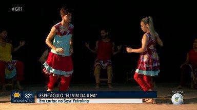Espetáculo de dança inspirado no Samba de Véio será apresentado neste sábado em Petrolina - A apresentação será no Teatro Dona Amélia em Petrolina.