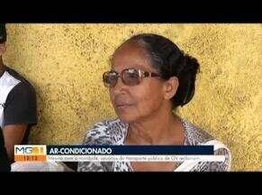 Novos ônibus com ar condicionado começam a circular em Governador Valadares - Moradores do bairro Santa Rita reclamam que os novos ônibus não passam por lá.