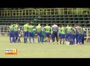 Ipatinga joga em casa pelo módulo II do Campeonato Mineiro - O último treino do Tigre foi nesta sexta (09).
