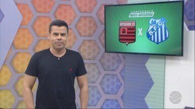 Operário-FC e Sinop abriram a quarta rodada do Estadual, com polêmica na arbitragem - Operário-FC e Sinop abriram a quarta rodada do Estadual, novamente com polêmica na arbitragem.