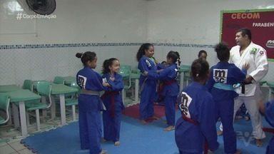 Projeto de judô social muda a vida de crianças em Santos - O projeto insere crianças no esporte.