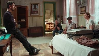 Alain revela sobre a suspeita de que Cris tenha sido dopada - Ana, Flávio e Américo ficam surpresos com a notícia