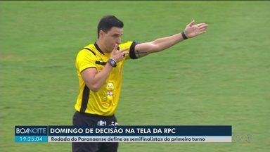 Rodada do Paranaense define os semifinalistas do primeiro turno - Jogos são no fim de semana.