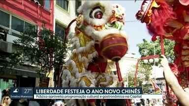 Liberdade festeja o novo ano chinês no fim de semana - Público aproveita programação cultural e gastronômica em SP