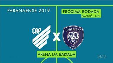 Rodada deste domingo do Paranaense define os semifinalistas do primeiro turno - Veja as chances de cada equipe.