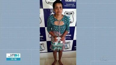 Mulher é presa tentando entrar com drogas em presídio de Colinas do Tocantins - Mulher é presa tentando entrar com drogas em presídio de Colinas do Tocantins