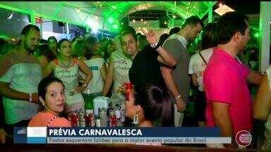 Prévias esquentam os foliões para o Carnaval em Teresina - Prévias esquentam os foliões para o Carnaval em Teresina