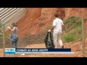 Mutirão de combate ao aedes aegypti é realizado em Timóteo - Larvas do mosquito são encontradas em 6,5% das residências da cidade.