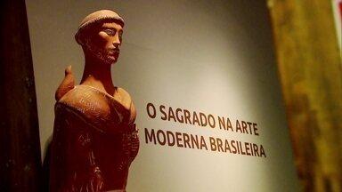 Museu de Arte Sacra tem exposição com obras de autores modernistas - Galeria reúne obras de Anitta Malfatti, Tarsila do Amaral e Volpi. E ainda: famílias realizam o sonho de deixar a cidade grande para morar no mar.