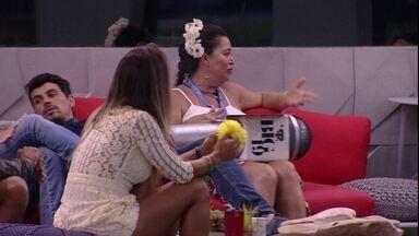 Tereza se desculpa com brothers por entrevistas no Castigo do Monstro - Sister se desculpa