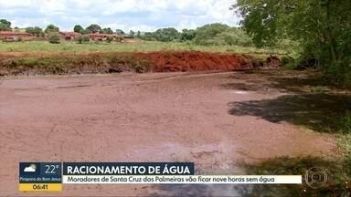 Moradores de Santa Cruz das Palmeiras enfrentam racionamento de água - Cidade na região de São Carlos corta água todos os dias das 7h às 16h. Mês de janeiro foi o mais seco dos últimos 10 anos na cidade.