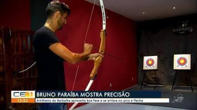 Bruno Paraíba, artilheiro do Barbalha, aproveita boa fase - Outras informações você confere no g1.com.br/ce