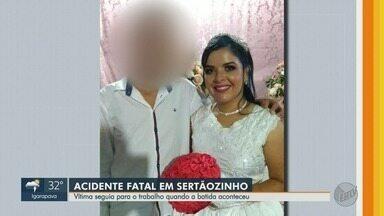 Colisão entre duas motos mata mulher em Sertãozinho, SP - Polícia investiga se motociclista envolvida estava alcoolizada.