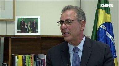 GloboNews Economia entrevista o ministro das Minas e Energia