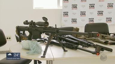 Torneiro mecânico é preso em MG suspeito de fabricar armas caseiras para quadrilhas de SP - Torneiro mecânico é preso em MG suspeito de fabricar armas caseiras para quadrilhas de SP