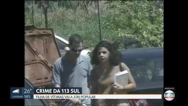 Filha de vítimas de crime da 113 sul vai a júri popular - Decisão do STJ manteve uma determinação da justiça do DF que vai levar a júri popular Adriana Vilella acusada de assassinar os próprios pais e a empregada da família.