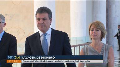 Fernada Richa, ex-primeira dama, é denunciada por lavagem de dinheiro - Beto Richa e o filho do casal, André Richa, além do contador Dirceu Pupo, já tinham sido denunciados.