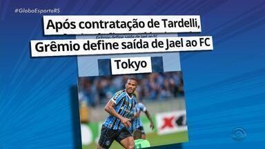 Atacante Jael está de saída do Grêmio para clube japonês - Assista ao vídeo.