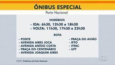 Ponto de Porto Nacional: linha de ônibus gratuita será disponibilizada para atender alunos - Ponto de Porto Nacional: linha de ônibus gratuita será disponibilizada para atender alunos