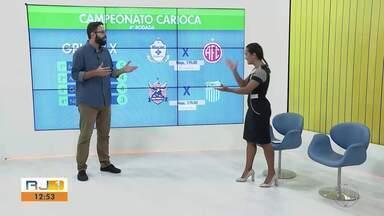 Goyta e Macaé jogam nesta quarta pelo Grupo X do Carioca - Assista a seguir.