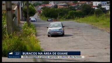 Buracos no Realengo em Divinópolis deixam moradores em situação complicada - A reportagem da TV Integração mostrou o problema no fim de 2018 e até agora nada foi feito. A Prefeitura informou ao MG1 que em até 15 dias eles serão tampados. Prazo que termina, portanto, no dia 28 de fevereiro.