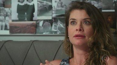 Grace sente a presença de Felipe perto de Isabel e se preocupa com a filha - Isabel se descontrola e expulsa a mãe de seu quarto