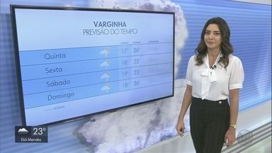 Confira a previsão do tempo para esta quinta-feira (14) no Sul de Minas - Confira a previsão do tempo para esta quinta-feira (14) no Sul de Minas