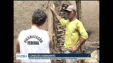 Fiscalização identifica 16 pessoas em situação semelhante ao trabalho escravo - Situação foram flagradas em carvoarias do Norte de Minas e Vale do Jequitinhonha.