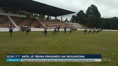 Batel começa as atividades pensando na segundona do Paranaense - Os atletas foram apresentados e já fizeram o primeiro treino da temporada.