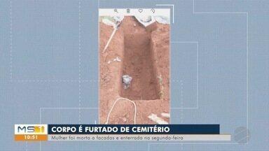 Corpo desaparece de cova no cemitério de Dois Irmãos do Buriti - Polícia já iniciou as investigações que correm sob sigilo.