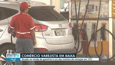 Comércio varejista fecha 2018 com déficit impulsionado pela alta do combustível na Bahia - Apesar do resultado, o país teve crescimento nas vendas.