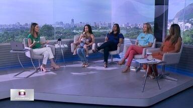 Globo Comunidade debate a volta às aulas e dificuldades enfrentadas pelos responsáveis - Programa abordou o tema do início do ano letivo, a falta de vagas e as dificuldades da família para se organizar.