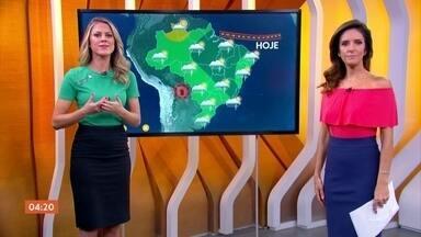 Previsão é de calor em todo país nesta terça-feira (19) - No Norte e no Centro-Oeste, a chuva vem a qualquer hora.