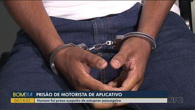 Motorista de aplicativo é preso por suspeita de estupro em Londrina - O caso teria sido no começo do mês.