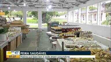 Parque de exposições oferece feira saudável - Feira acontece durante toda a semana, no bairro São Gerardo