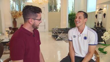 Rodriguinho fala sobre a carreira e revela promessa de nunca mais fazer a mãe sofrer - Meia chegou ao Cruzeiro como principal contratação para da temporada