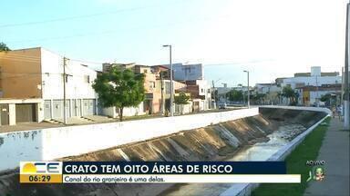 Áreas de risco do Crato preocupam autoridades e moradores - O Canal do Rio Granjeiro é uma delas.