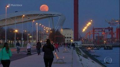 Superlua aparece pela segunda vez em 2019 - Confira as lindas imagens da lua no Brasil e no mundo