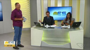 Comentarista de esporte do ES, Paulo Sérgio traz os destaques dos campeonatos nacionais - O destaque foi o jogo do Serra contra o Vasco. O time capixaba perdeu de 2 a 0.