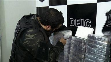 PF de Tocantins prende 28 em ação contra tráfico internacional de drogas - Também foram apreendidos 11 aviões. Segundo a investigação, a quadrilha transportou mais de nove toneladas de cocaína entre 2017 e 2018.