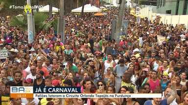 Carnavalizou: Furdunço aquece baianos e turistas no fim de semana de pré-carnaval - Veja como foi a festa que abre a temporada carnavalesca na capital baiana.