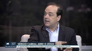 Sérgio Cabral afirma que Carlos Osorio pagou propina a ele - Homem da mala já tinha falado sobre isso em sua delação e, ex-governador confirmou versão de Carlos Miranda em novo depoimento ao MPF.
