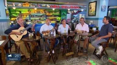 Zeca Pagodinho reúne repertório dos poetas da Portela em mesa de bar - A Portela é a maior campeã do carnaval do Rio e tem também uma lista de compositores memoráveis.